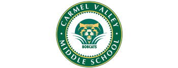 Carmel Valley Middle School logo